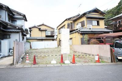 【外観】伏見区日野野色町 建築条件付き 土地