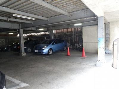 和田駐車場(バイク置き場)