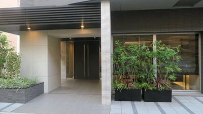 ☆手入れのされた入り口です☆ パークアクシス東上野