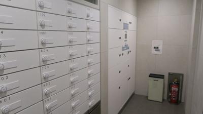 ☆宅配ボックスも充実しています☆ パークアクシス東上野