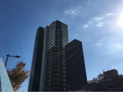 【外観パース】JR東西線「新福島」駅徒歩3分 大阪市福島区のタワーマンション  BELISTAタワー福島