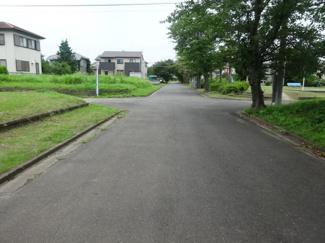 団地内メイン道路2