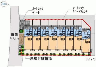 【地図】ウィステリア関町
