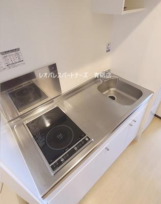 【キッチン】レオネクストやまとⅢ