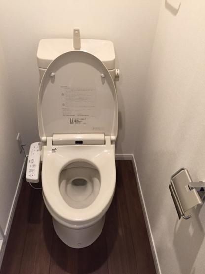 【トイレ】テラスガーデン中目黒