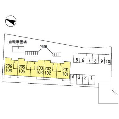 【区画図】ハイカムール山王