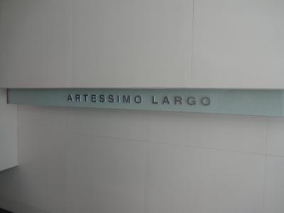 ARTESSIMO LARGO(アルテシモラルゴ) 看板