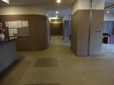 【ロビー】アルカーデンタワー入谷
