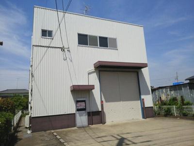 【外観】南中島町事務所付倉庫