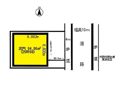 【外観】昭和通 店舗戸建