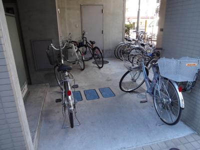 グレンコート 駐輪場