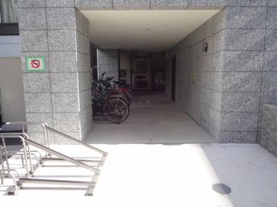 フォンターナ入谷 駐輪場