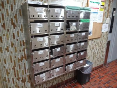 パレストライ21ビル メールボックス