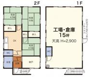 新吉田町住居付貸工場・貸倉庫の画像