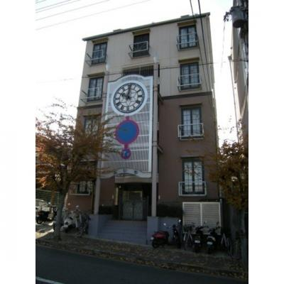【外観】時計台マンションエレモ