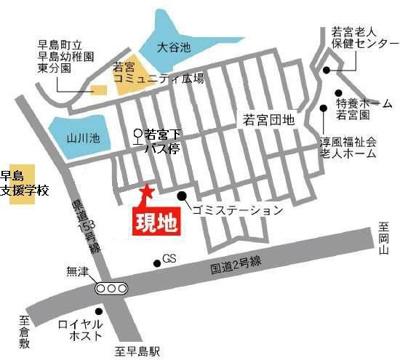 【地図】コテージモクモク