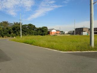 グランファミーロ金田東Ⅲ 土地 袖ヶ浦駅 広々とした敷地面積なので様々な建築プランに対応可能です。 カースペースやお庭を広々と確保できます♪