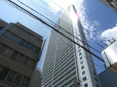 【外観パース】シティタワー大阪