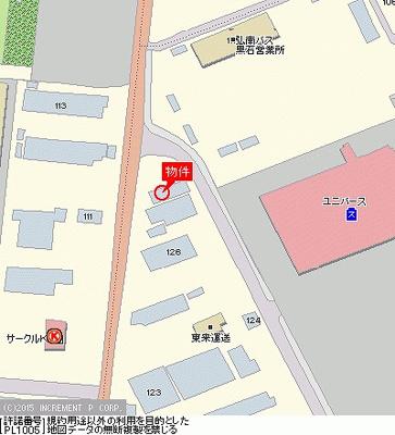 【地図】ハイムふじみ