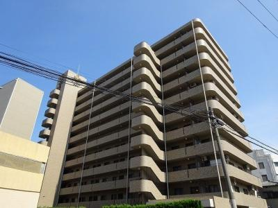【外観】キングマンション福島Ⅲ