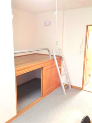 造り付けベッド、ベッド下収納
