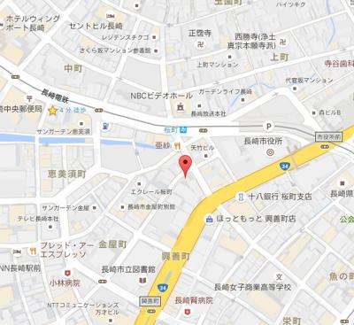【地図】コーポサンスイ