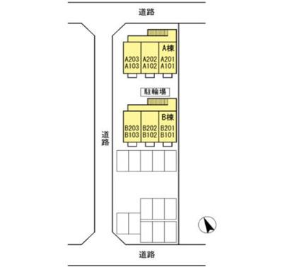 神田 マーチ 1K 区画図