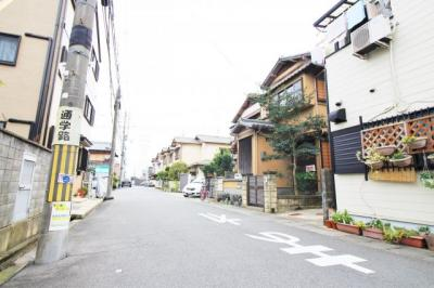 【前面道路含む現地写真】伏見区向島津田町 新築戸建