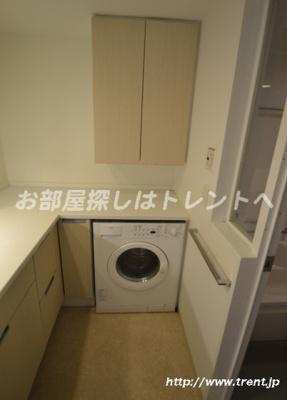 【洗面所】富ヶ谷スプリングス