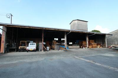 【外観】柳川市三橋町白鳥事務所倉庫