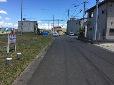 【前面道路含む現地写真】富士見ヶ丘2丁目3番