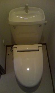 【トイレ】プラシード野中A