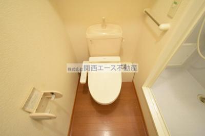 【トイレ】レオパレスブルーファン
