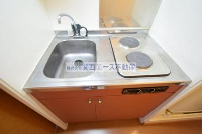 【キッチン】レオパレスブルーファン