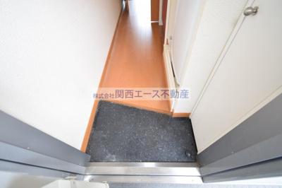 【玄関】レオパレスブルーファン
