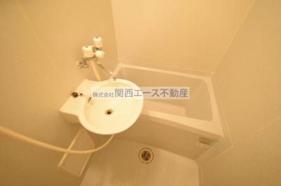 【浴室】レオパレスブルーファン
