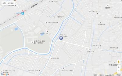 【地図】アメニティーハウス中須賀