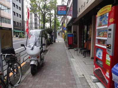 池田マンション 建物前
