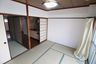 【居間・リビング】コーポラスハタ
