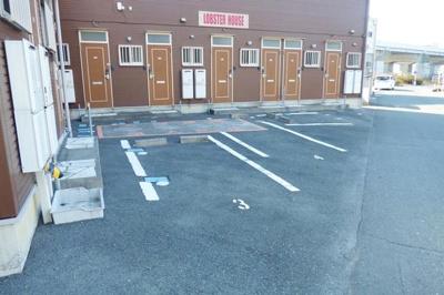 【駐車場】ロブスターハウス