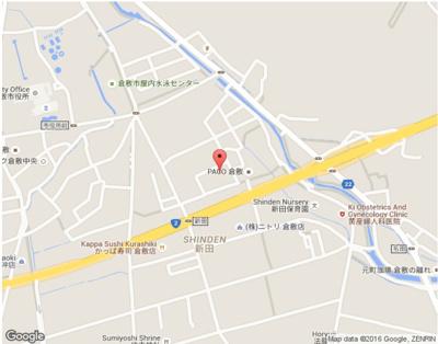【地図】ファミーユK・A・YⅠ