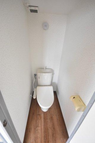 【トイレ】ワンステップハイツ保木間