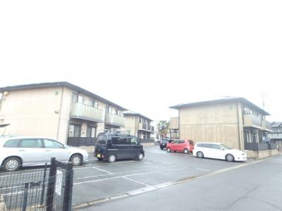 えとあシティD 倉敷市白楽町 賃貸アパート 駐車場