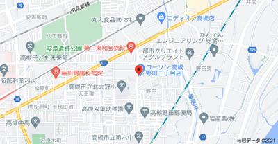 【地図】恵光ビル