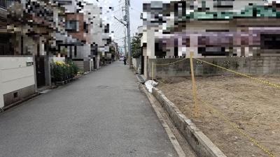 【前面道路含む現地写真】PLAISIR小松南町1丁目 売土地