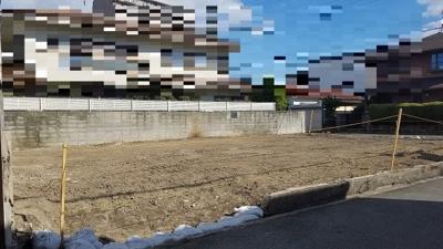 【前面道路含む現地写真】PLAISIR小松南町1丁目 新築戸建