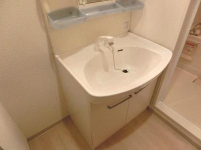 アプレンデールの独立洗面台