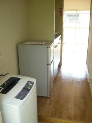 冷蔵庫・洗濯機付