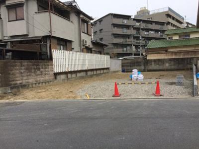 【外観】天王2丁目売土地(建築条件無)