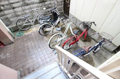 敷地内駐輪場&バイク置き場